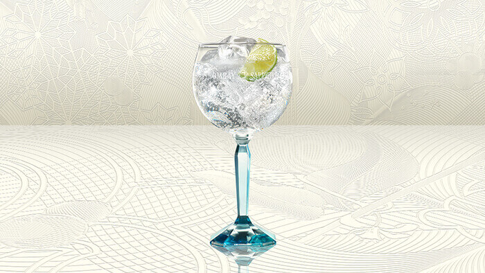 Bombay Sapphire Cocktail Cup